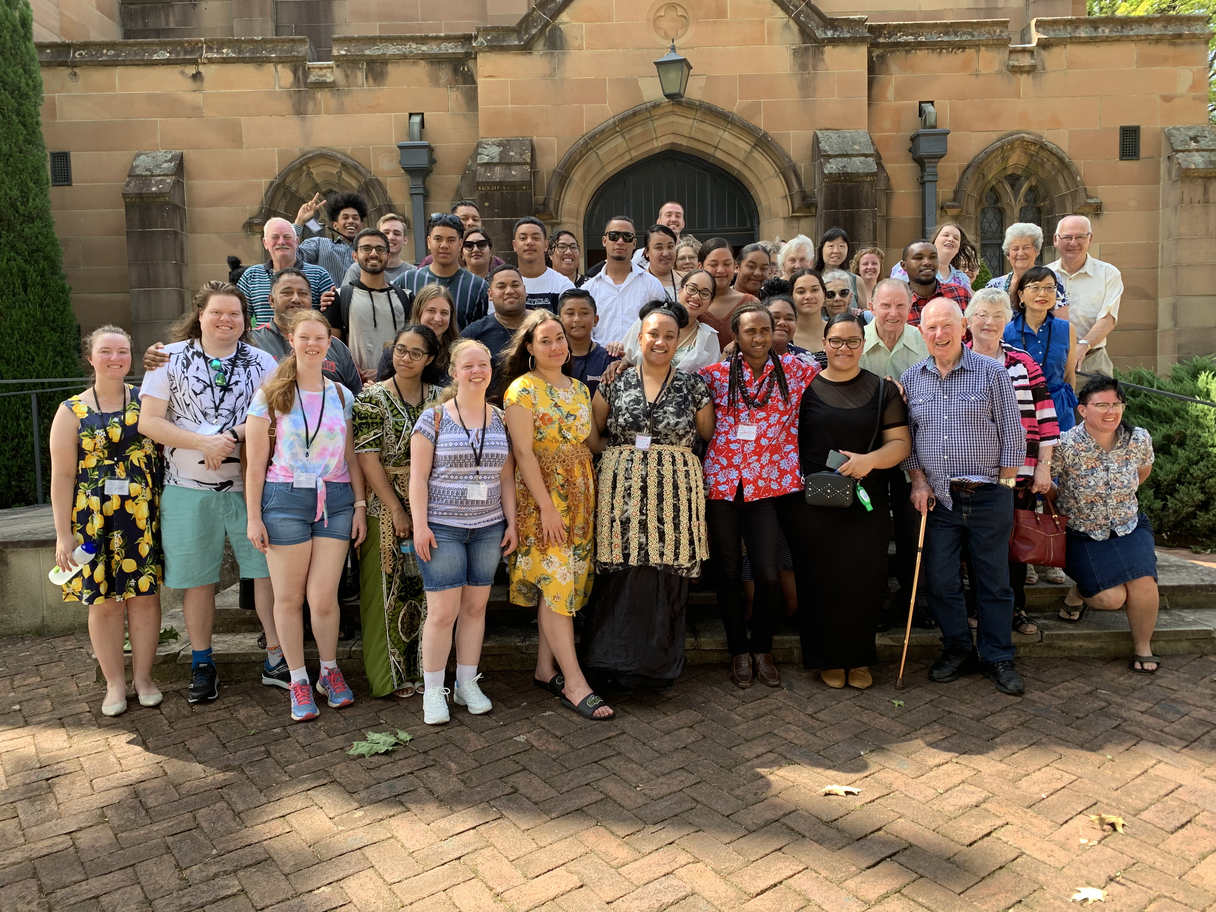 Retreat Yourself crew and Lithgow UC family together