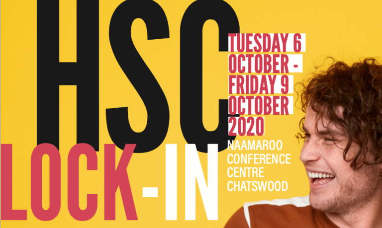 HSC LOCK-IN offers community and support to Year 12 students
