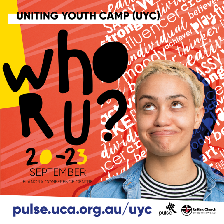 We want YOU at 2021 Uniting Youth Camp!